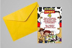 Convite 10x15 Toy Story 006