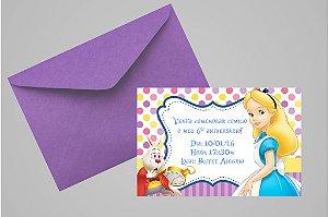 Convite 10x15 Alice no país das maravilhas 002