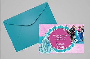 Convite 10x15 Frozen 002