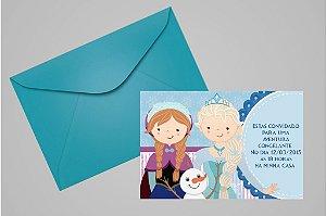 Convite 10x15 Frozen 009