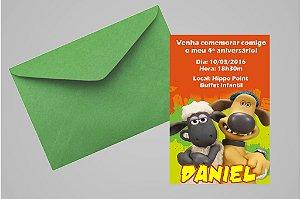Convite 10x15 Shaun, o Carneiro 007