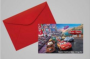Convite 10x15 Carros da Disney 005