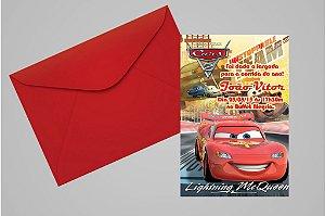 Convite 10x15 Carros da Disney 008