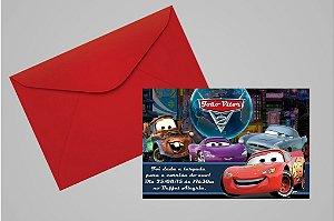 Convite 10x15 Carros da Disney 017