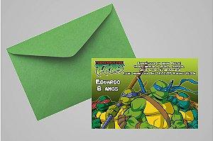 Convite 10x15 Tartarugas Ninja 008
