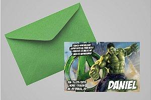 Convite 10x15 O Incrível Hulk 006