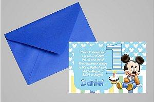 Convite 10x15 Baby Disney 010