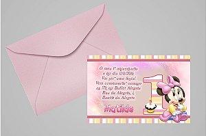 Convite 10x15 Baby Disney 012