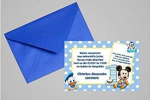 Convite 10x15 Baby Disney 022