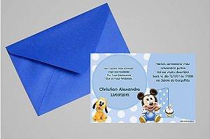 Convite 10x15 Baby Disney 023