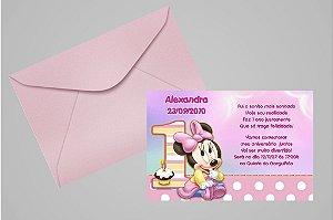 Convite 10x15 Baby Disney 024
