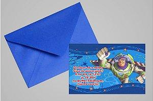 Convite 10x15 Buzz Lightyear Toy Story 002