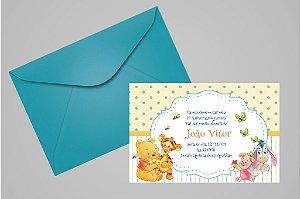 Convite 10x15 Baby Pooh 001