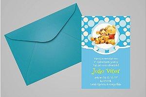 Convite 10x15 Baby Pooh 002