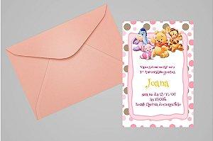 Convite 10x15 Baby Pooh 003