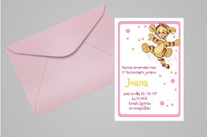 Convite 10x15 Baby Pooh 004
