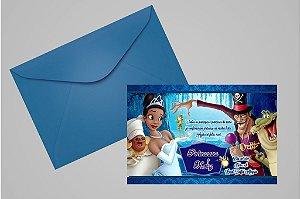Convite 10x15 A Princesa e o Sapo 001