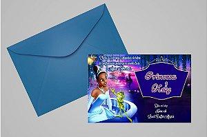 Convite 10x15 A Princesa e o Sapo 002