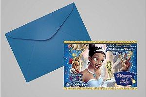 Convite 10x15 A Princesa e o Sapo 004