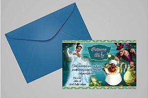 Convite 10x15 A Princesa e o Sapo 005