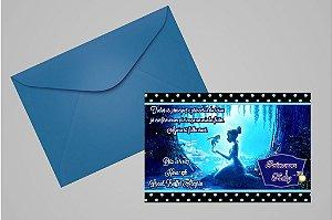 Convite 10x15 A Princesa e o Sapo 006