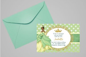 Convite 10x15 A Princesa e o Sapo 007