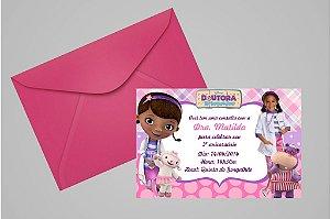 Convite 10x15 Doutora Brinquedos 001 com foto