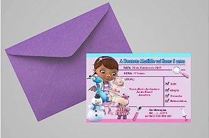 Convite 10x15 Doutora Brinquedos 008
