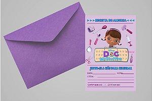 Convite 10x15 Doutora Brinquedos 010