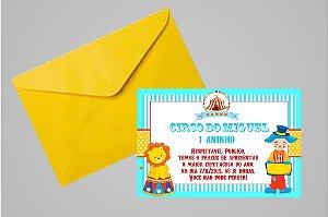Convite 10x15 Circo 001