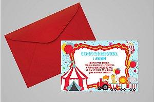 Convite 10x15 Circo 002