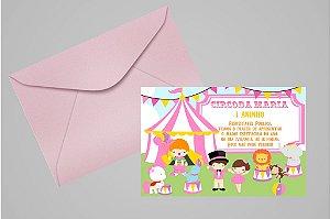 Convite 10x15 Circo 003