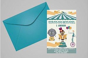 Convite 10x15 Circo 006