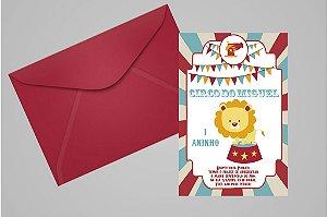 Convite 10x15 Circo 008