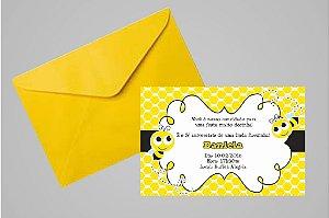Convite 10x15  Abelhas 010