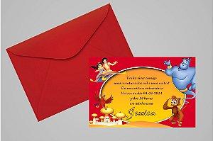 Convite 10x15 Aladdin 003