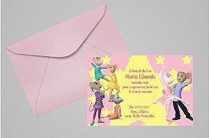 Convite 10x15 Angelina Bailarina 004