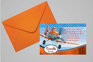 Convite 10x15 Aviões da Disney 003