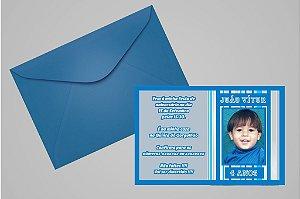 Convite ou foto lembrança 10x15 Aniversário sem tema 002