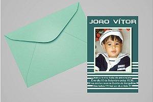 Convite ou foto lembrança 10x15 Aniversário sem tema 012
