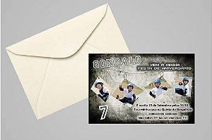Convite ou foto lembrança 10x15 Aniversário sem tema 023