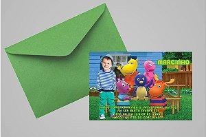 Convite 10x15 Backyardigans 001com foto