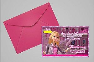Convite 10x15 Barbie 001