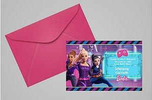 Convite 10x15 Barbie 003
