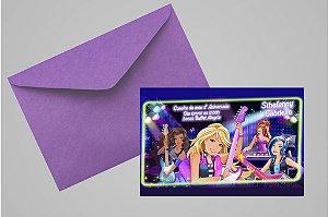 Convite 10x15 Barbie 004