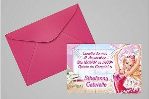 Convite 10x15 Barbie 006