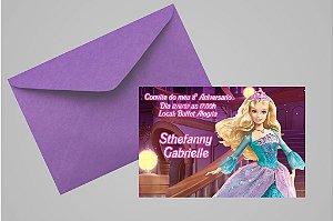 Convite 10x15 Barbie 015
