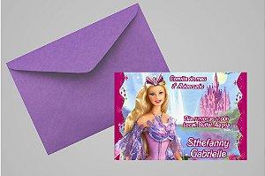 Convite 10x15 Barbie 016