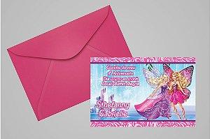 Convite 10x15 Barbie 022