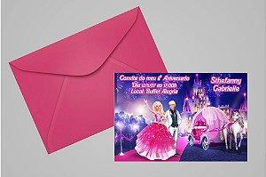 Convite 10x15 Barbie 041